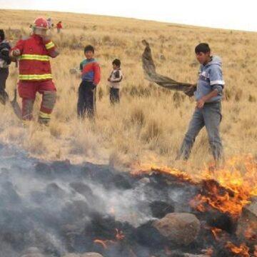 Bajas en la humedad y poca lluvia aumenta riesgo de incendios forestales