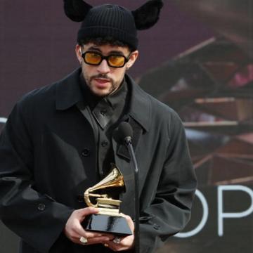 Bad Bunny obtuvo el primer Grammy de su carrera con YHLQMDLG