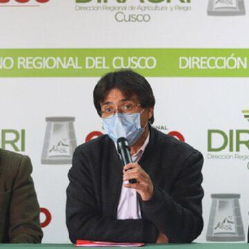 Gobierno Regional del Cusco y dirigentes Municipales defienden construcción del Aeropuerto Internacional de Chinchero