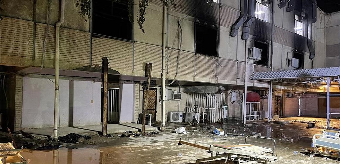 Irak: 82 muertos en incendio de un hospital