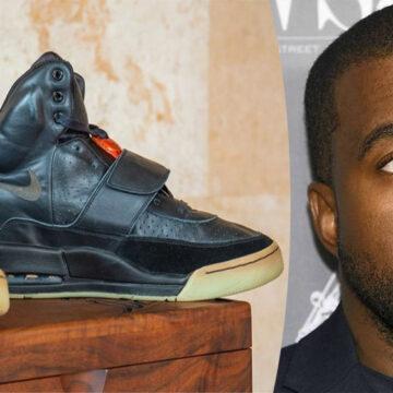 Zapatillas de Kanye West fueron vendidas en 1.8 millones de dólares