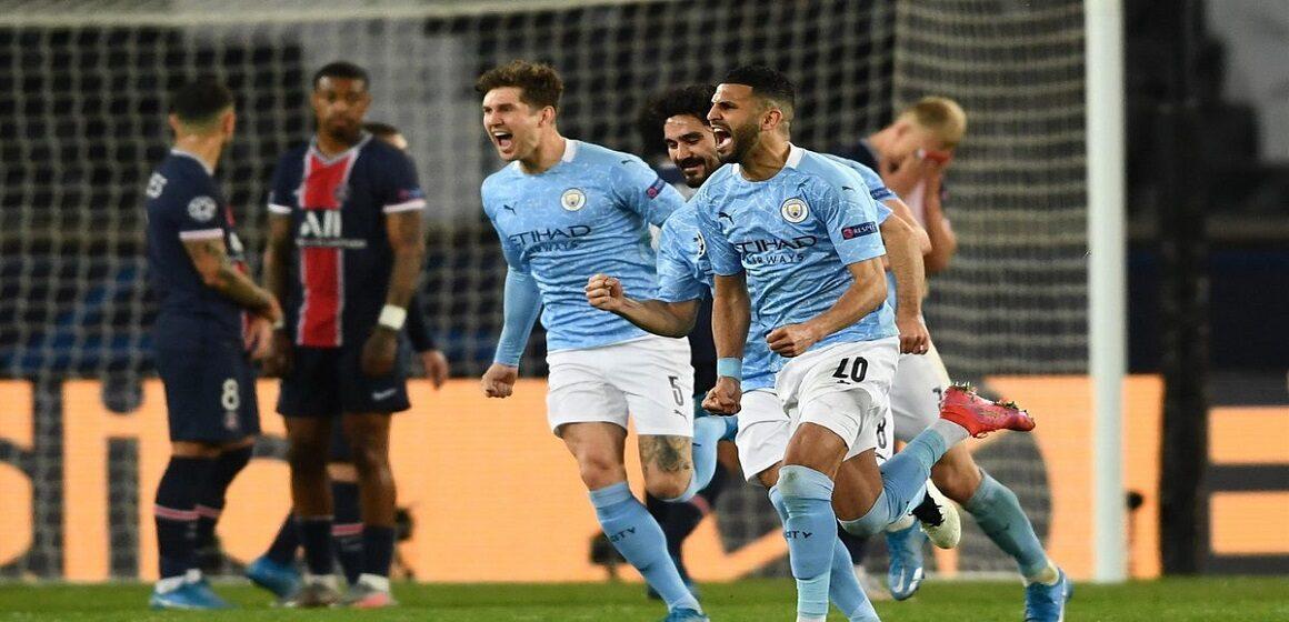 Manchester City quedó al borde de la final tras remontar y vencer a PSG por 1-2