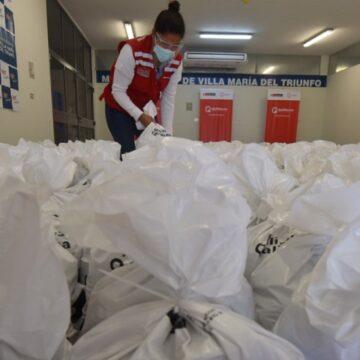 VMT: Comité de Transparencia y Acompañamiento impulsado por Midis constató entrega de más de 28 toneladas de alimentos para población vulnerable