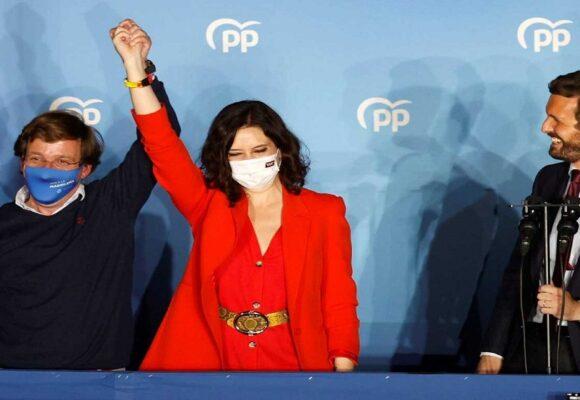 Isabel Díaz Ayuso arrasó en las elecciones y seguirá siendo presidenta de Madrid