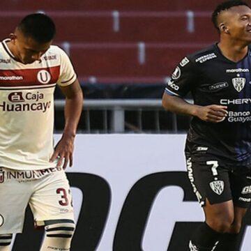 Universitario fue goleado 4-0 por Independiente del Valle en Quito