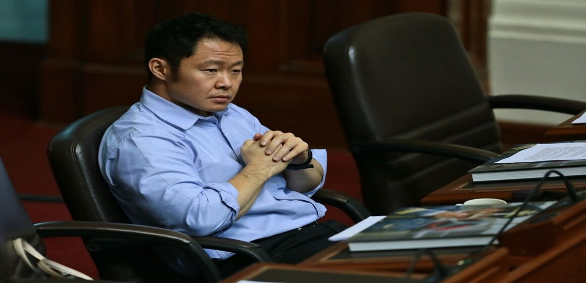 Kenji Fujimori anunció que dio positivo a COVID-19
