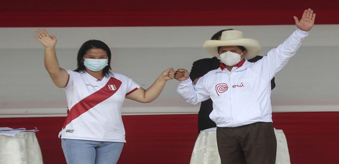 "Keiko Fujimori a Pedro Castillo: ""Tuve que venir hasta aquí para hacer un intercambio de ideas"""