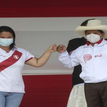 Datum: Keiko Fujimori sigue reduciendo la ventaja que lo separa de Pedro Castillo