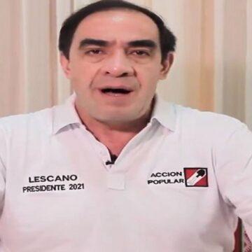 Yonhy Lescano fue el candidato más votado por los peruanos residentes en Jordania