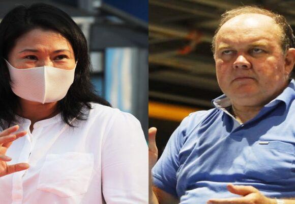 """Rafael López Aliaga: """"Keiko Fujimori es la menos mala"""""""