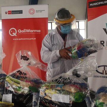 Más de 2700 ciudadanos vulnerables del Rímac y Lima cercado recibirán alimentos de Midis Qali Warma