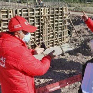 Se inicia la construcción del puente Chillicohuaycco en Ayacucho