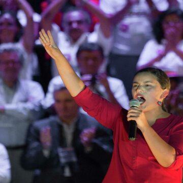 Verónika Mendoza fue la candidata más votada en Polonia y Rusia