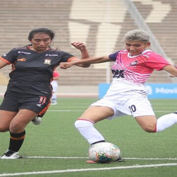 Ayacucho FC debutó en la Liga Femenina igualando 2-2 con Killas