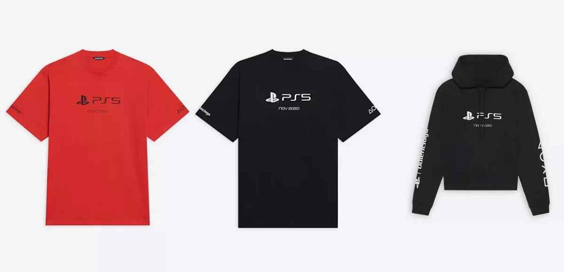 PlayStation pone a la venta unas camisetas más caras que una PS5