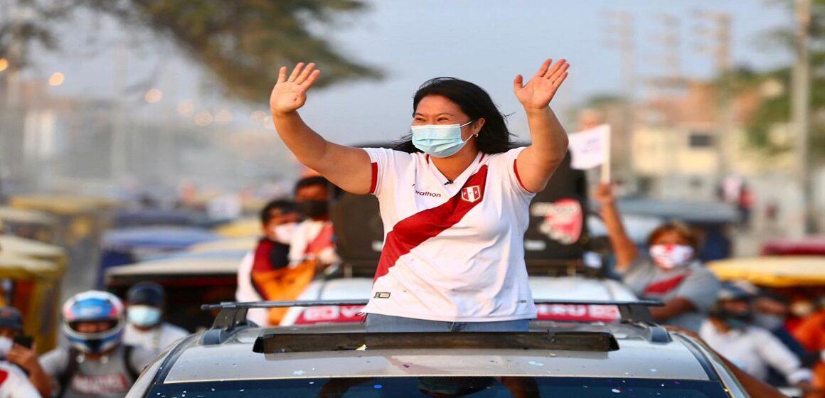 Cañete al 100%: Keiko Fujimori derrotó a Pedro Castillo con casi el 55% de los votos