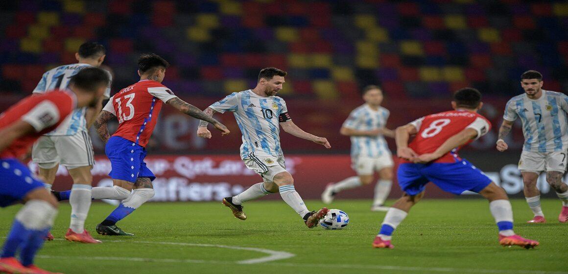 Argentina no pudo con Chile en Santiago del Estero y resignó un empate por 1-1