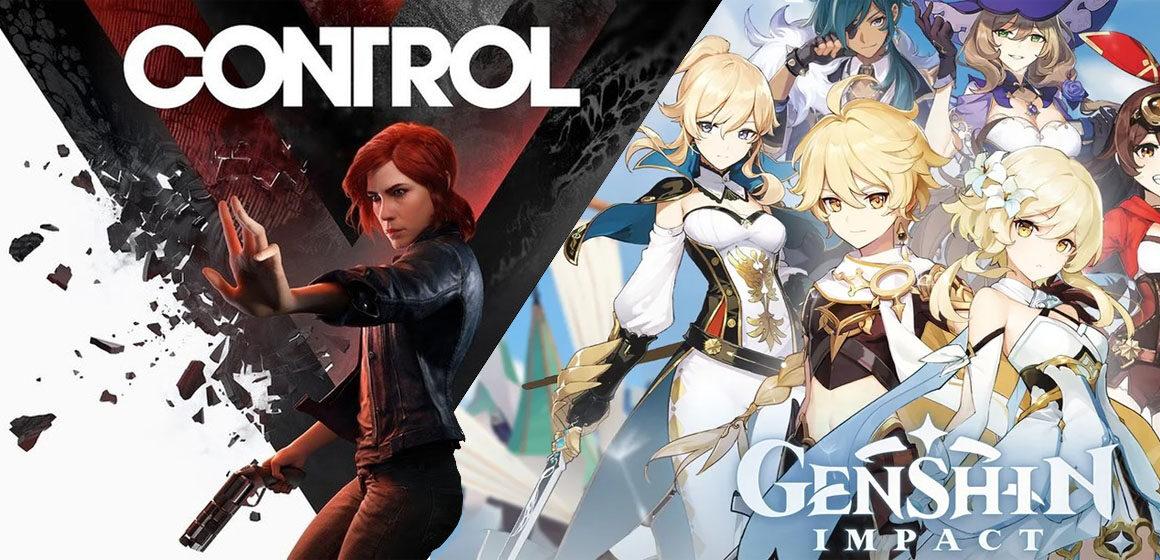 Control y Genshin Impact gratis en Epic Games Store