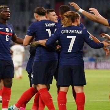 Francia se impuso a Alemania por 1-0 gracias a un autogol de Mats Hummels