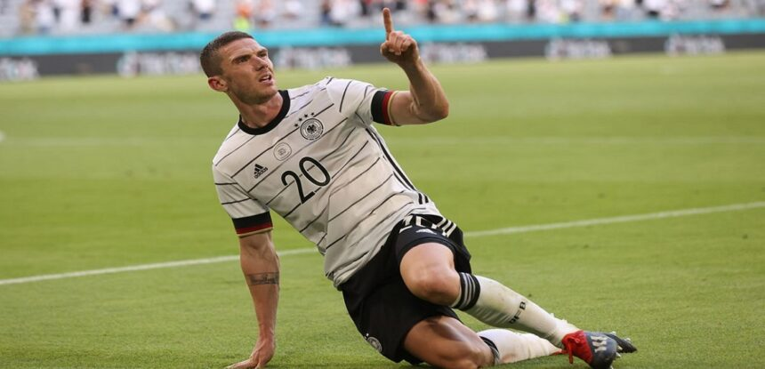 Alemania superó a Portugal por 4-2 con magistral desempeño de Robin Gosens