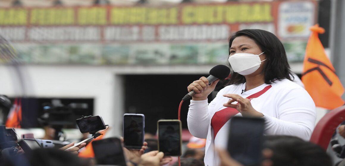 Huaura al 100%: Keiko Fujimori venció con casi el 54% de los votos