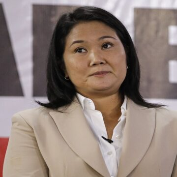 """Keiko Fujimori: """"Voy a aceptar los resultados que el JNE decida"""""""