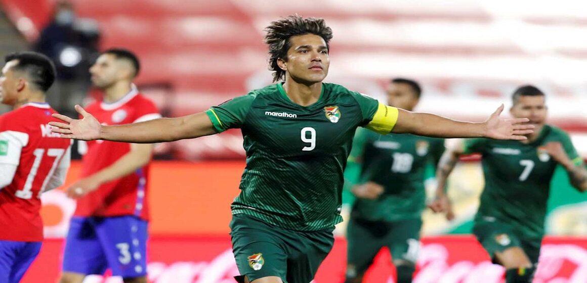 Bolivia rescató un punto de oro tras igualar 1-1 de visita con Chile