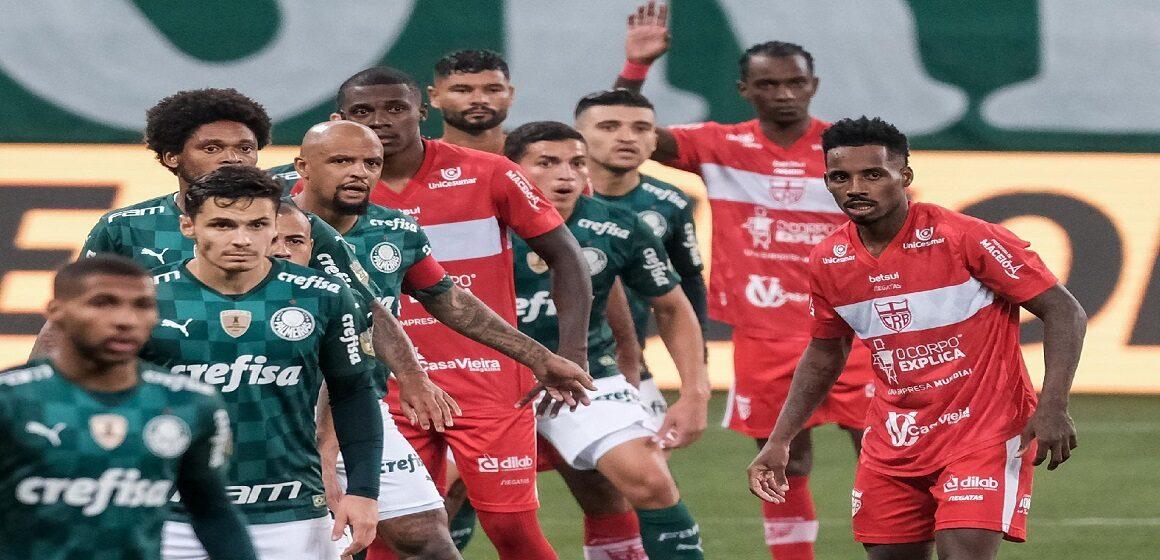 Regatas de Maceió, equipo de Segunda División, eliminó a Palmeiras de la Copa Brasil