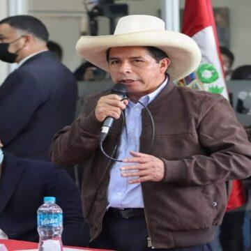 """Pedro Castillo: """"No los defraudaremos y escribiremos la nueva historia"""""""