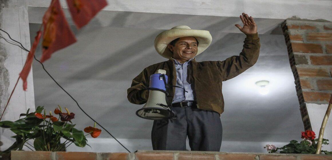 Pasco al 100%: Pedro Castillo ganó con más del 60% de los votos