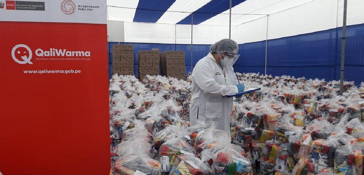 Municipalidad de San Juan de Lurigancho recibe más de 45 toneladas de alimentos de Midis Qali Warma