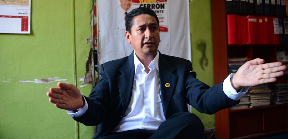 Procuraduría apelará anulación de sentencia por corrupción de Vladimir Cerrón