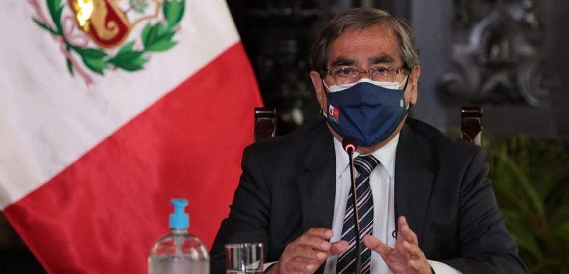 Ministro Óscar Ugarte anuncio  medidas extraordinarias frente a crisis de COVID-19 en Arequipa