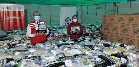 Cerca de 43 toneladas de alimentos inocuos y de calidad entrega Midis Qali Warma a municipalidades de los Olivos y mi Perú