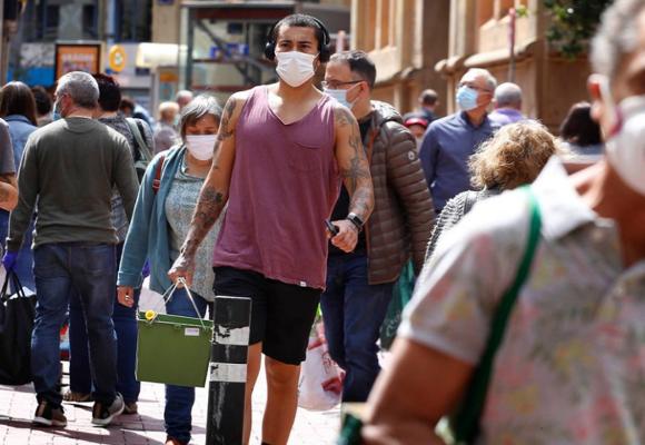 Mascarillas dejarán de ser obligatorias a partir del 26 de junio en España