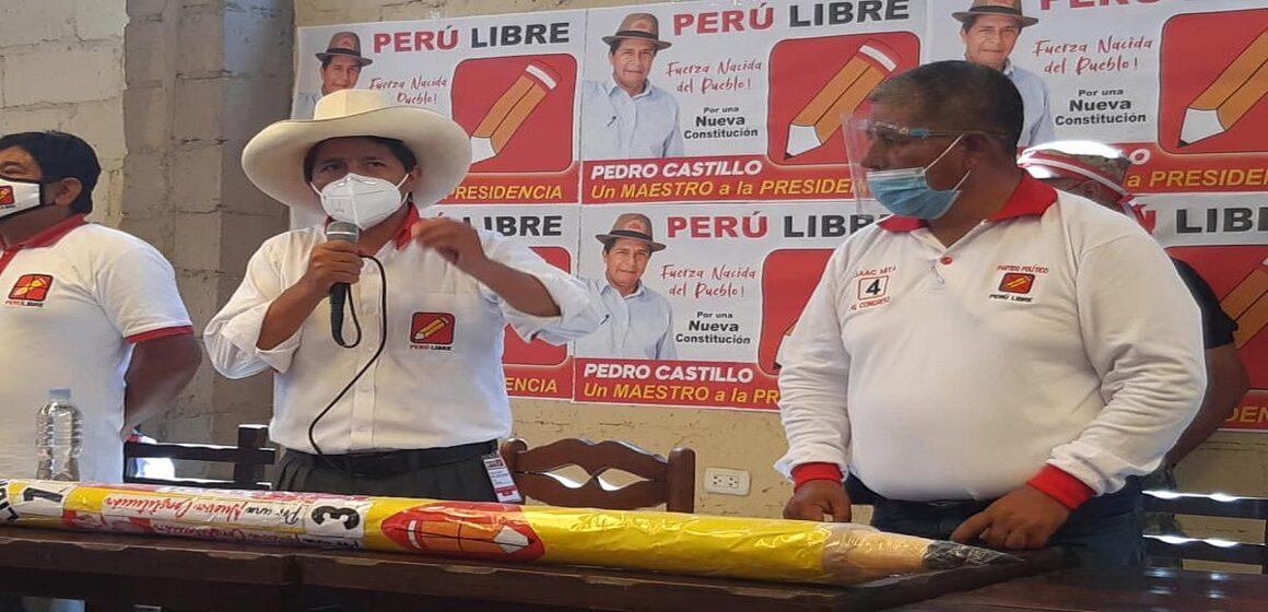Yauyos al 100%: Pedro Castillo ganó bordeando el 60% de los votos