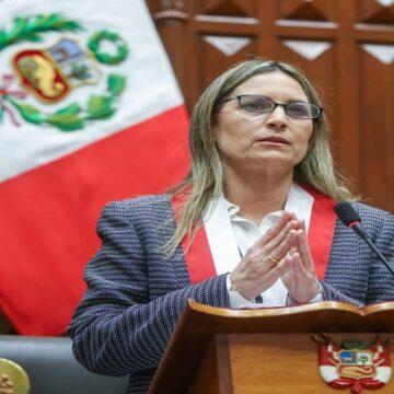 """Maricarmen Alva Prieto: """"El congreso garantizará el equilibrio de poderes que requiera el país"""""""