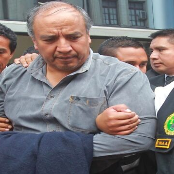 Jorge Acurio, ex gobernador de Cusco, volverá a prisión