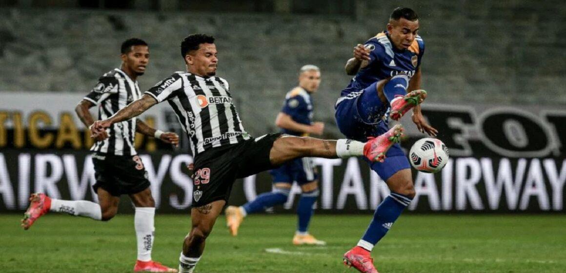 Atlético Mineiro eliminó a Boca Juniors por 3-1 en penales con polémica y violencia