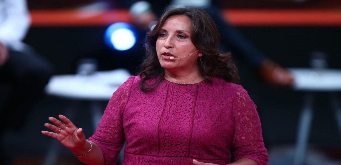 """Dina Boluarte: """"Trabajaremos incansablemente para lograr una patria más justa para todos"""""""