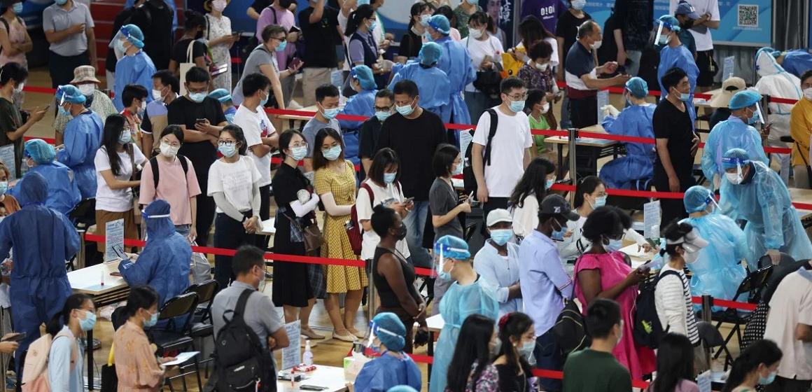 China: nueva oleada de contagios por coronavirus en aeropuerto de Nanjing