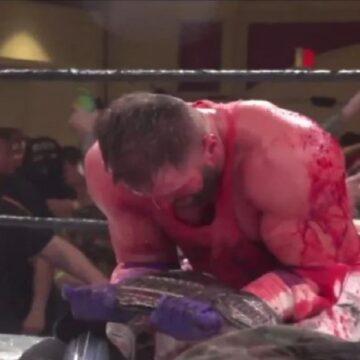 Matt Cardona se convirtió Campeón Mundial de GCW tras vencer a Nick Gage en un deathmatch