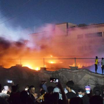 Irak: al menos 90 muertos dejó un incendio en hospital