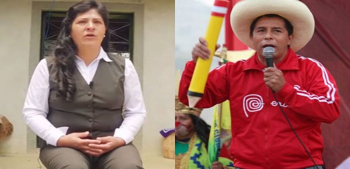 """Lilia Paredes: """"Voy a apoyar a mi esposo en todo lo que esté a mi alcance"""""""