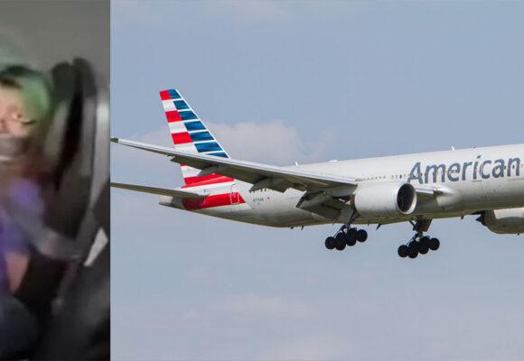 Mujer intentó abrir compuerta de un avión durante un vuelo