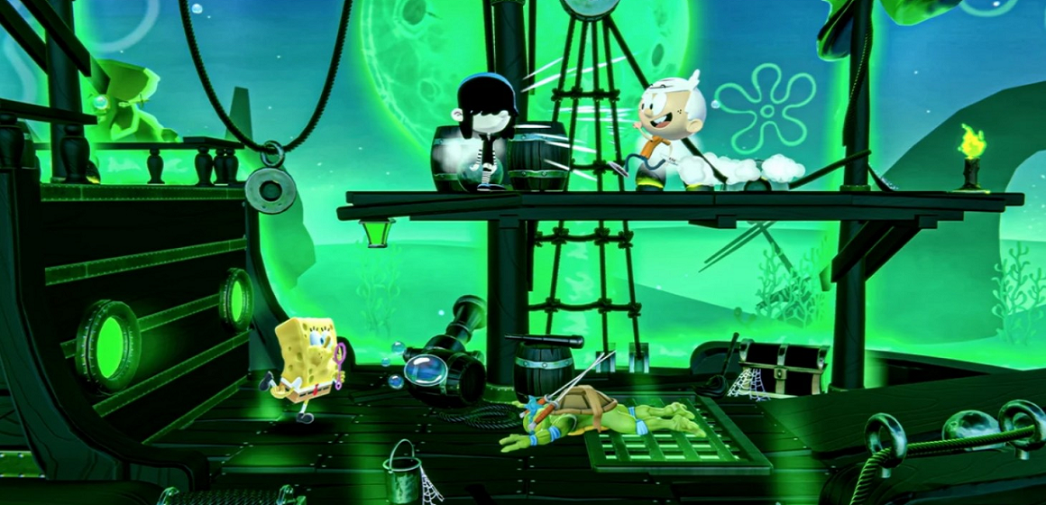 Nickelodeon All Star-Brawl: un juego similar al Smash Bros. será lanzada este año