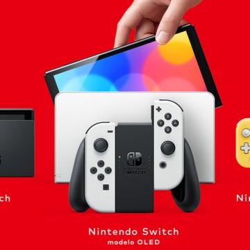 Nintendo presenta su nueva Switch OLED: con una pantalla más grande y mejor sonido