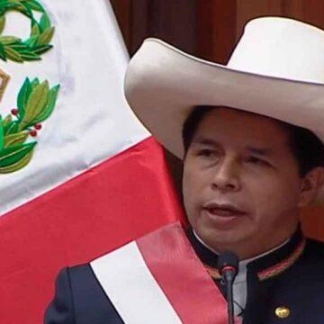 Pedro Castillo anunció que no gobernará desde la Casa de Pizarro