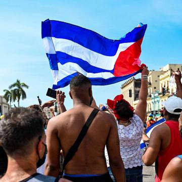 """Protestas en Cuba: presidente Díaz-Canel acusa a Estados Unidos de provocar """"estallido social"""""""