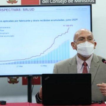 Ministro Mendoza sostuvo remarcó que la estabilidad macroeconómica permitirá una recuperación rápida